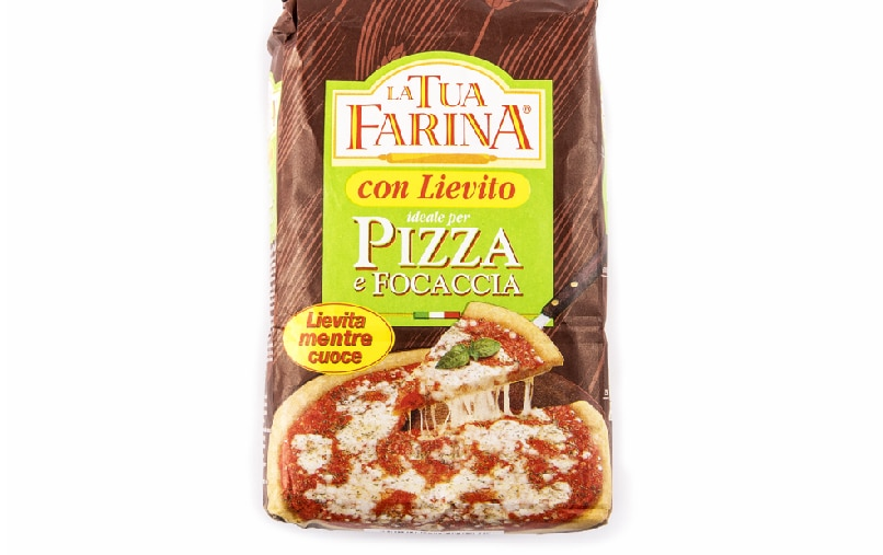 Pizza and focaccia yeast flour