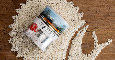 Riso Acquerello: the first aged Carnaroli rice, the best for your risotto