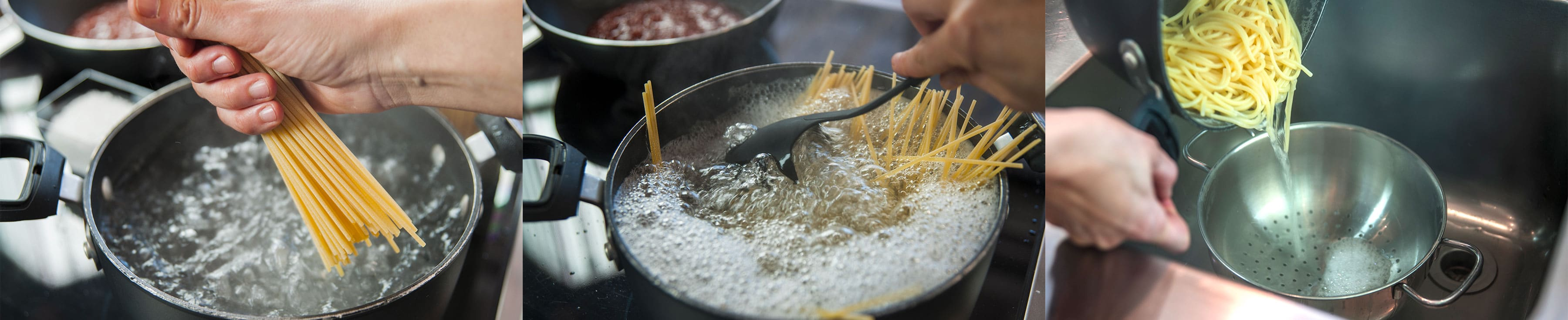 How to make Pasta steps