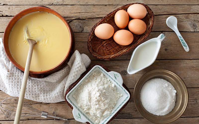 How to make Italian Custard