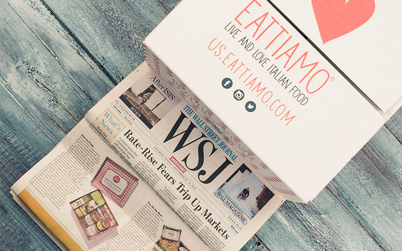 Eattiamo wall street journal