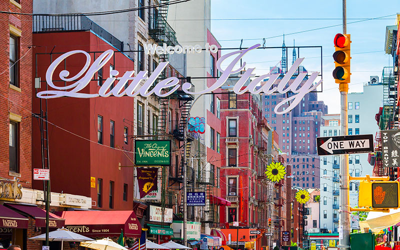 little Italy restaurants