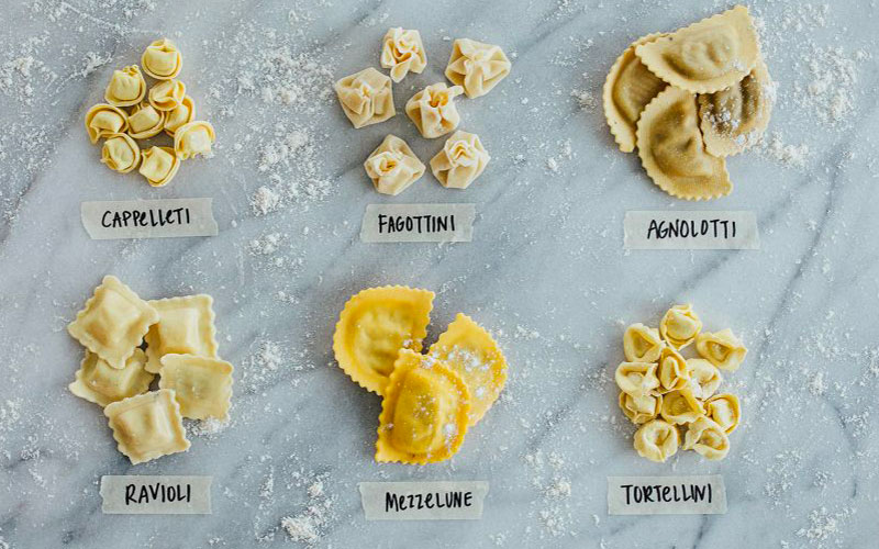 pasta guide stuffed pasta