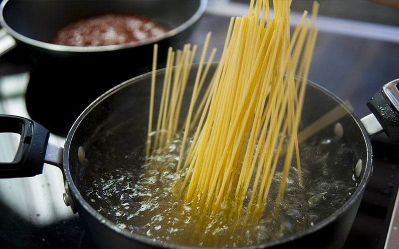 The Right Pot for Pasta