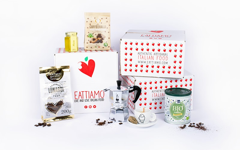Eattiamo coffee box