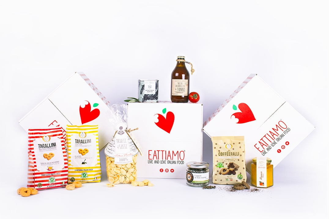 Italian Food Basket <br>Delivery of the Month