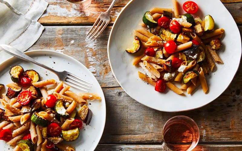 Healthy Pasta with Veggies