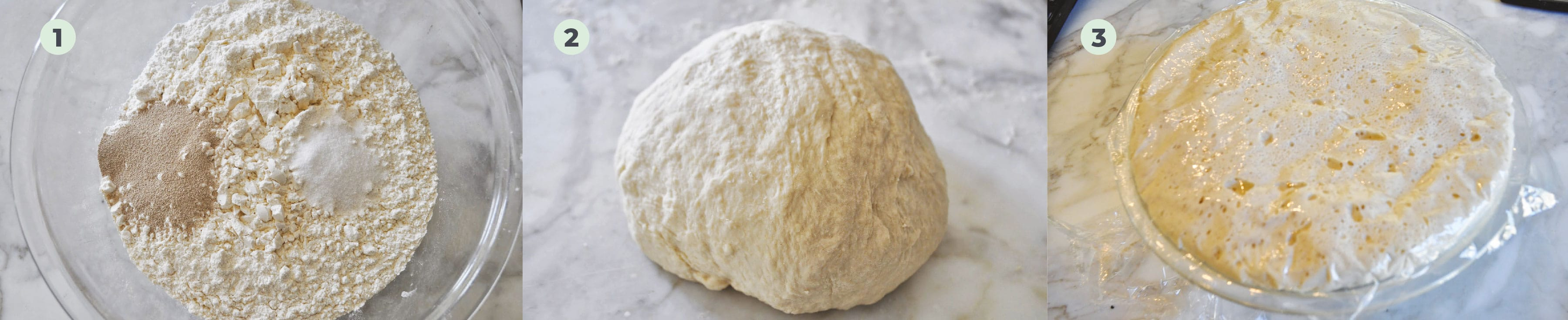 Steps to make Pizza from the scratch