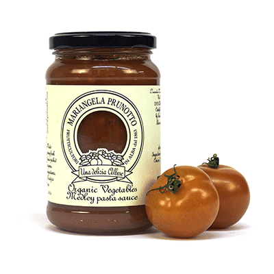 Tomato Sauce with Garden Vegetables