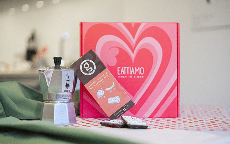 Eattiamo Box chocolate and coffee