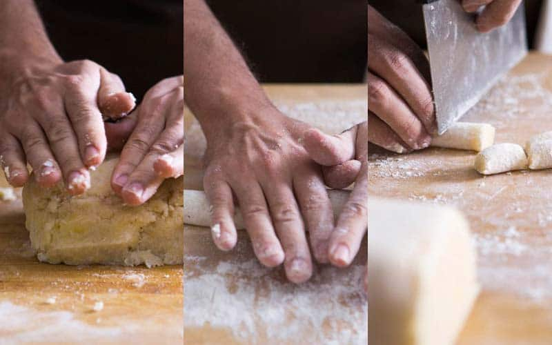 How to knead Gnocchi