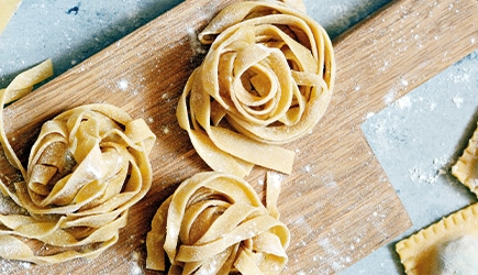 Did you know that tagliatelle pasta has two sisters?